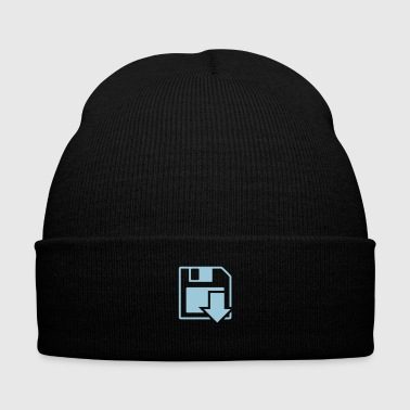 Floppy Loading - Knit Cap with Cuff Print