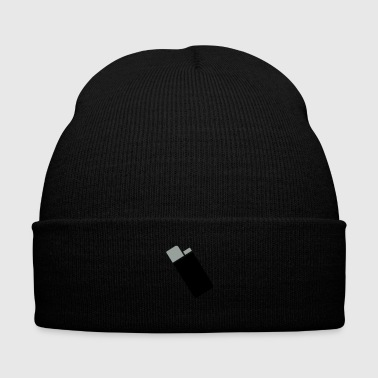 Lighter - Knit Cap with Cuff Print