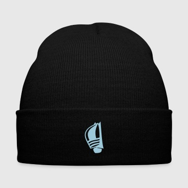 Sailing boat - Knit Cap with Cuff Print