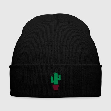 cactus - Knit Cap with Cuff Print