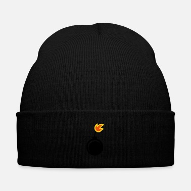 Explosion explosive - bomb - fire - Knit Cap with Cuff Print