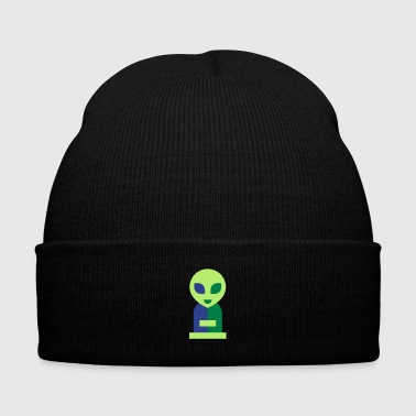Alien alien cutie - Knit Cap with Cuff Print