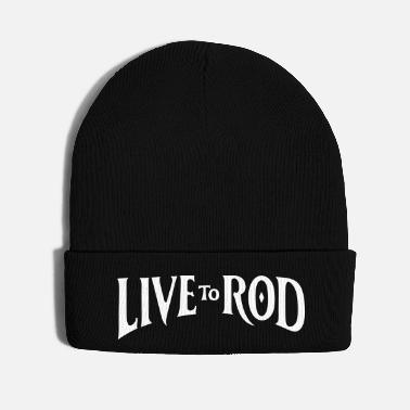 Gas LIVE TO ROD Logo Snap-back Cap 2 - Knit Cap