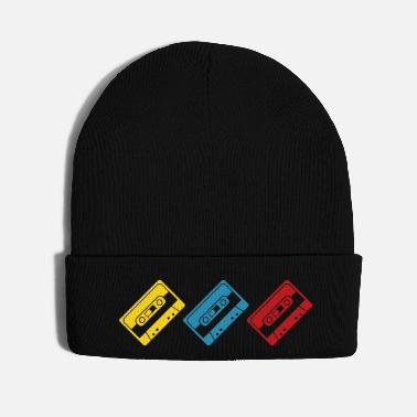 Funky coloured tapes - Knit Cap