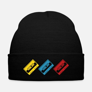Radio coloured tapes - Knit Cap with Cuff Print