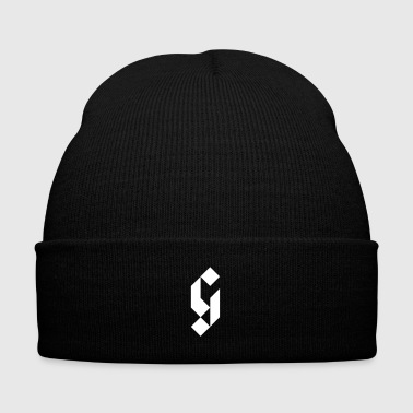 G Initial Glmn Logo - Knit Cap with Cuff Print