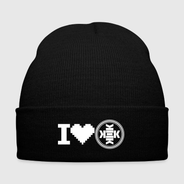 love kekistani - Knit Cap with Cuff Print