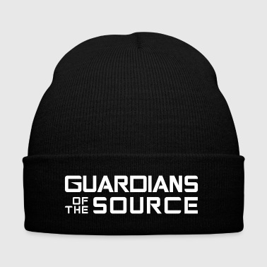 Guardians of the source - Knit Cap with Cuff Print