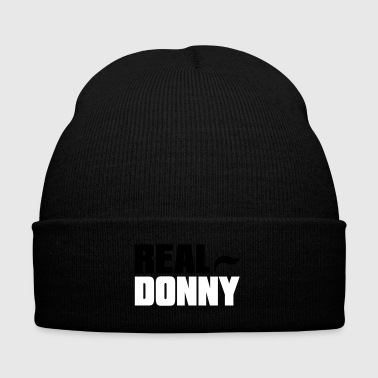 Real Donny - Knit Cap with Cuff Print