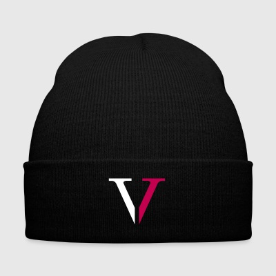 Low5ive V - Knit Cap with Cuff Print