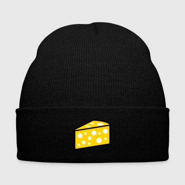 cheese - Knit Cap with Cuff Print
