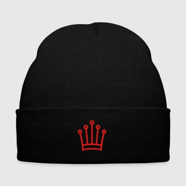 Hasty king - Knit Cap with Cuff Print