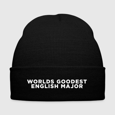 English Major Funny Quote - Knit Cap with Cuff Print