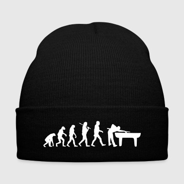 Evolution Billards - Knit Cap with Cuff Print