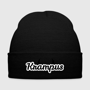Krampus - Knit Cap with Cuff Print