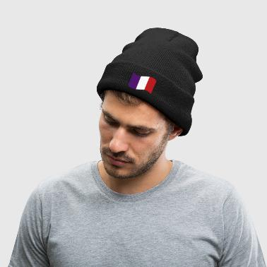 France Flag  - Knit Cap with Cuff Print