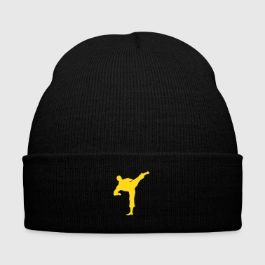 fighter - Knit Cap with Cuff Print