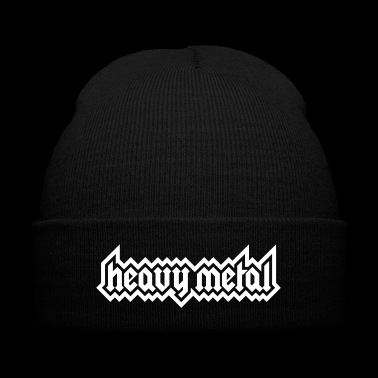 Heavy Metal - Knit Cap with Cuff Print
