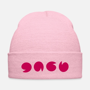 Vector pink_pattern vector - Knit Cap