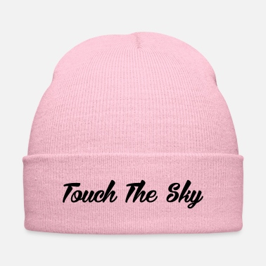 Mountain Climbing Rock Climbing Touch The Sky - Knit Cap