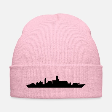 Shipwrecked ship - Knit Cap