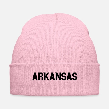 Bluff Arkansas vector - Knit Cap