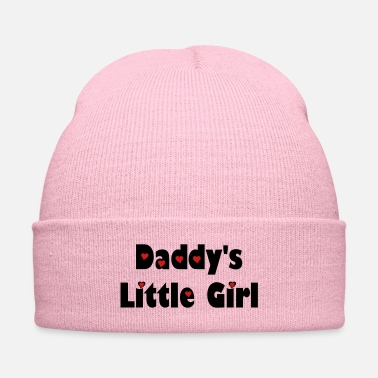 Lovely ټDaddy's Little Girl-I Love you Daddyټ - Knit Cap