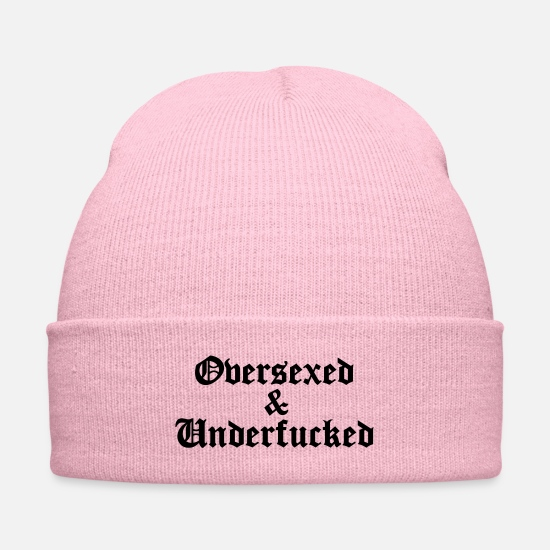 Over Caps - over and under (x) - Knit Cap pink