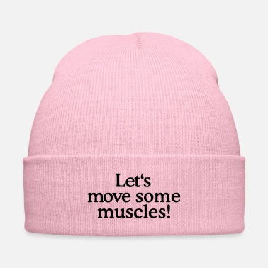 Move Let's move some muscles - Knit Cap