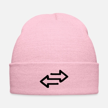 Hilarious ⇌Transfer Icon Arrow-Arrow Symbols-Icons⇌ - Knit Cap