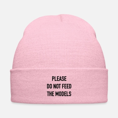 Model please do not feed the models - Knit Cap