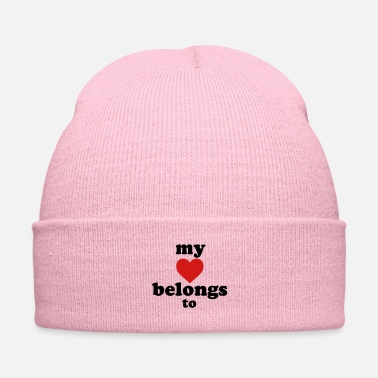 Valentine's Day my heart belongs to - Knit Cap