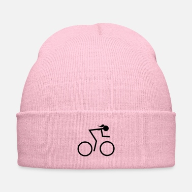 Ultras racing bike girl - Knit Cap