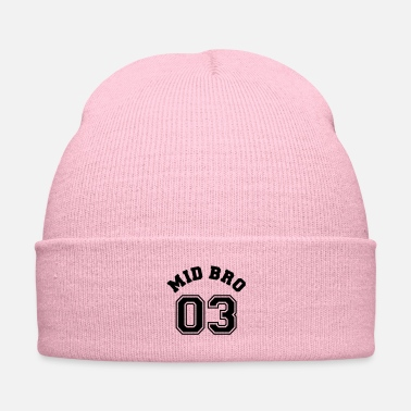 Siblings Mid Bro 03 - Middle Brother Siblings Shirt e - Knit Cap