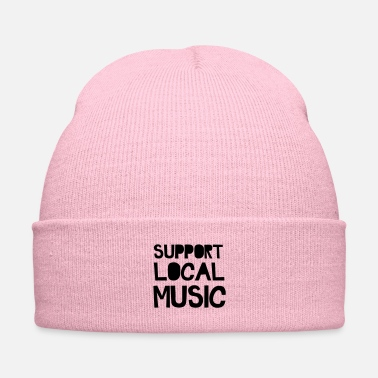 Neighborhood Support Local Music - Knit Cap