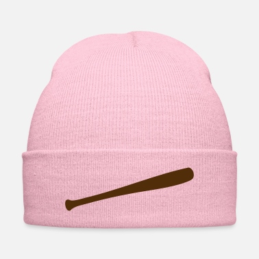 Pitcher Baseball Bat - Knit Cap