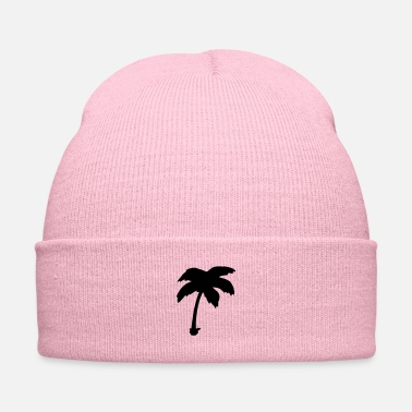Ignore Palm tree silhouette - Knit Cap