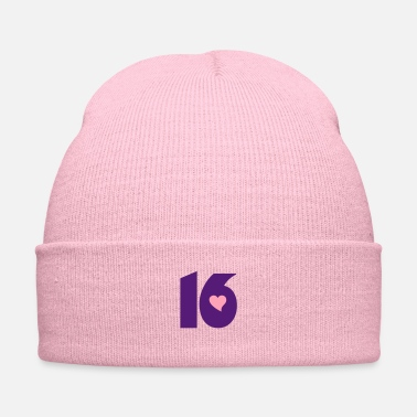 Born In ❤️★Number Sixteen 16-Best Jersy Number & Best Age★ - Knit Cap