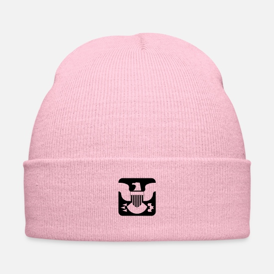 Standard Caps - shield of office - Knit Cap pink