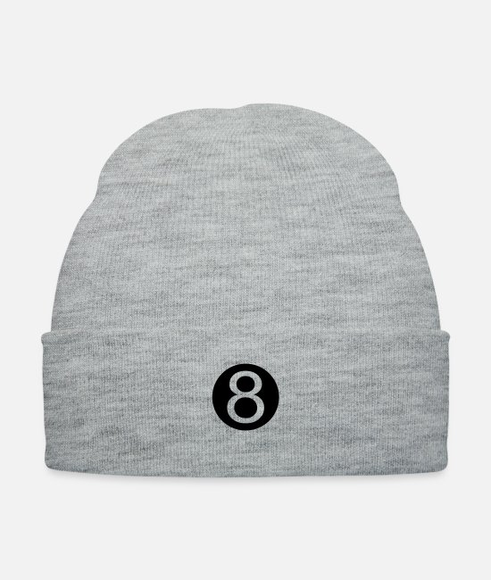 Take Caps & Hats - bola 8 - Knit Cap heather gray