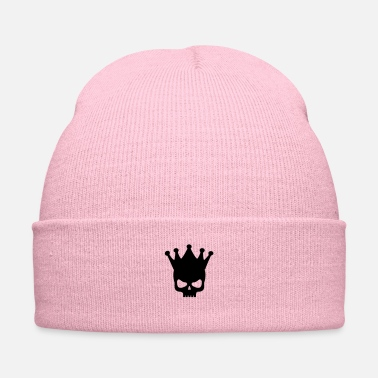 Wear King Skull Wearing A Crown - Knit Cap
