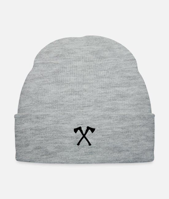 Axel Caps & Hats - ax - axe - Knit Cap heather gray