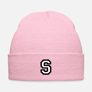Name Day Letter S - Knit Cap