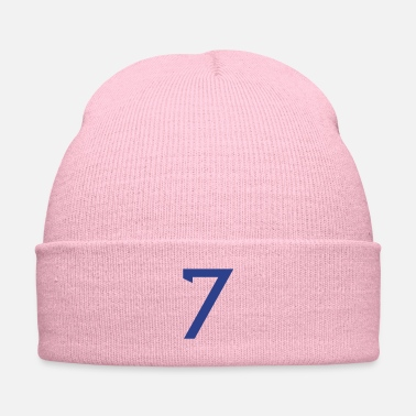 Your Name ★Cool Number Seven 7-Best Uniform Number-7★ - Knit Cap