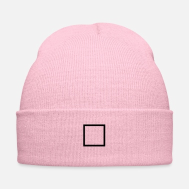 Square square outline - Knit Cap