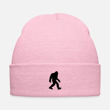 Lochness Gone Squatchin black - Knit Cap