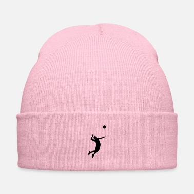 Beach Volleyball Volleyball Player - Knit Cap