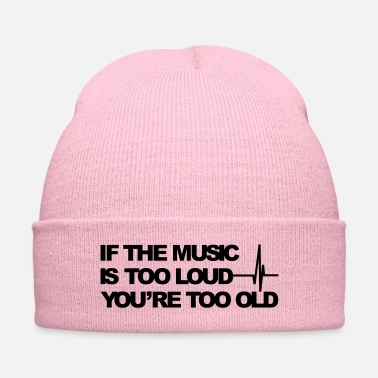 Loud If the music is too loud - Knit Cap