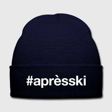 APRES-SKI - Knit Cap with Cuff Print