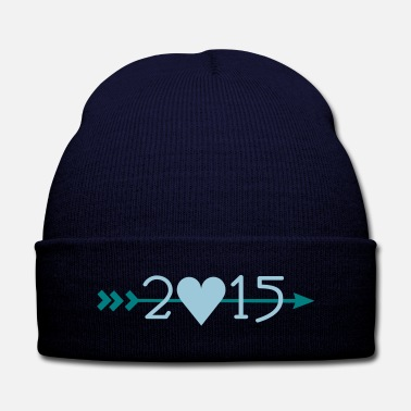 New Year 2015_arrows - Knit Cap with Cuff Print